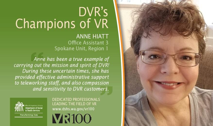 Image of champions of VR Anne Hiatt